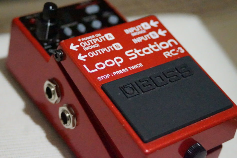 Guitar Effects Looper Bossrc3 Bosspedals Technology Close-up Text No People Indoors  Music Musician MusicIsLife Musicianlife