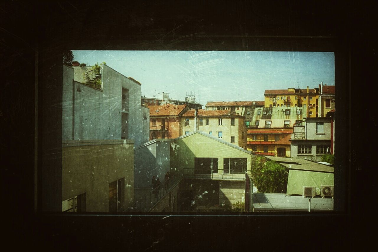 Dalla finestra From The Window Milano Colors Landscape Looking To The Other Side Fuorisalone From The Rooftop