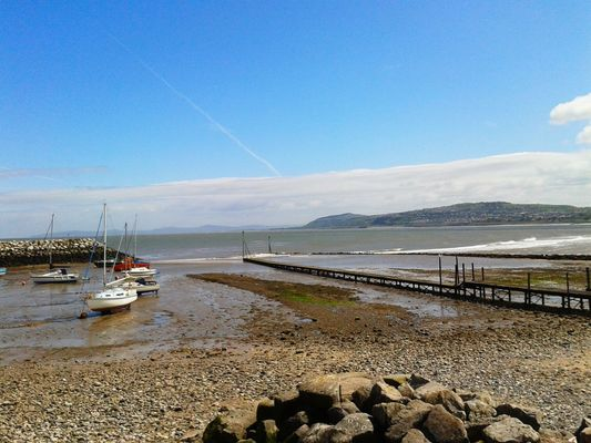 boats at Rhos Promenade by Dan