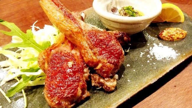 ラムチョップat肉屋うたがわ Lambchop Meatlovers Meat! Meat! Meat! Dinner With Friends Foodphotography Fukuoka,Japan 福岡市中央区