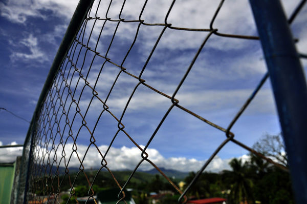 Architecture Close-up Cloud - Sky Day Dystopia Dystopian Fence Nature No People Outdoors Sky