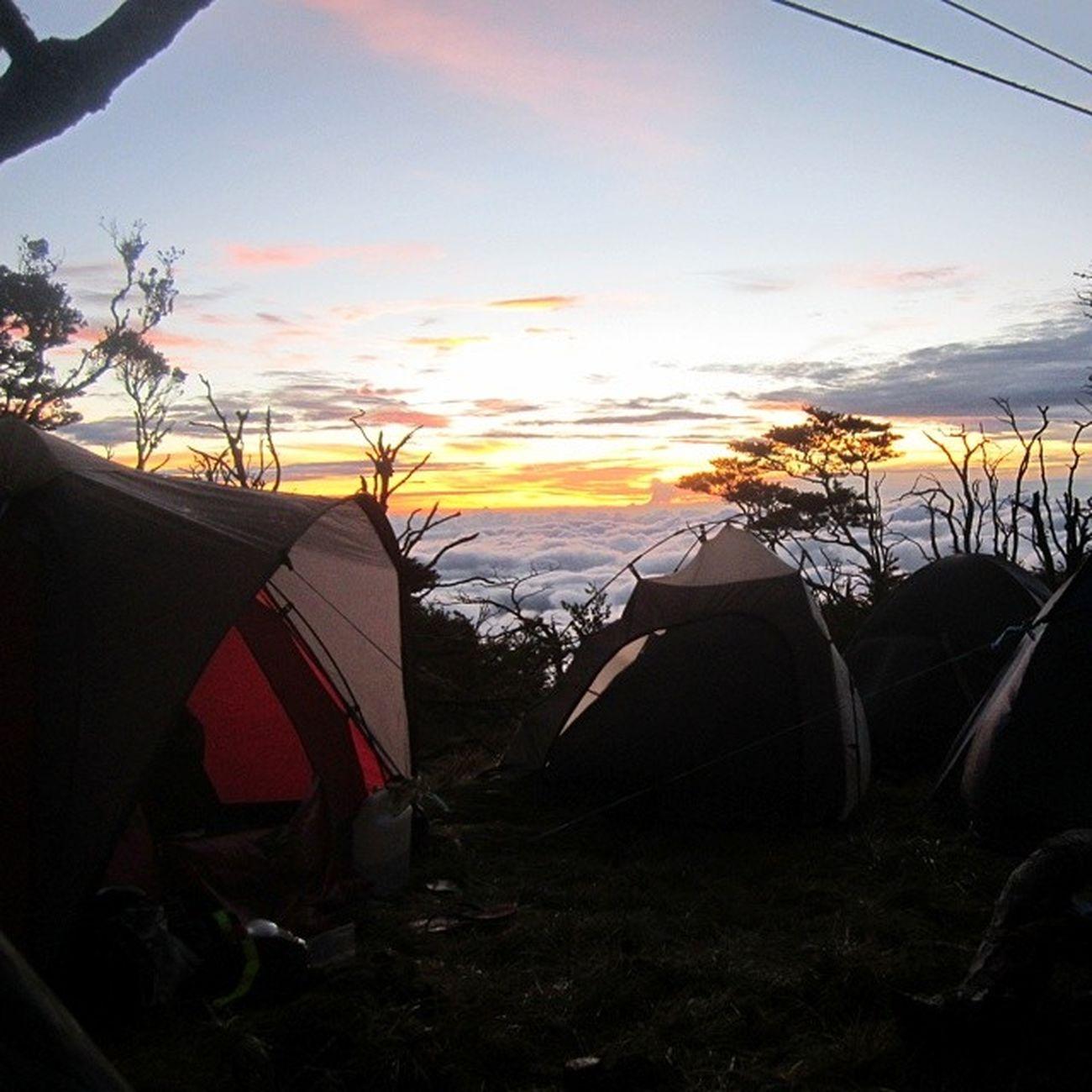 Lompobattangmount Pos 9 sunset