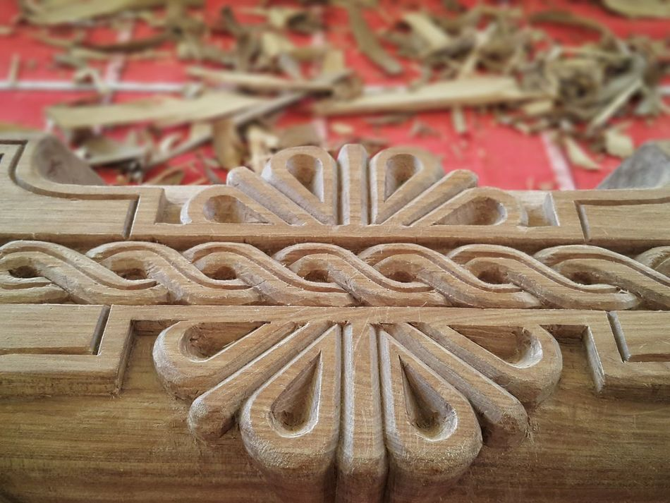 Wood Wood - Material Wood Carving Close-up Wooden Art Full Frame Creativity Art Is Everywhere Arts And Crafts Work In Progress