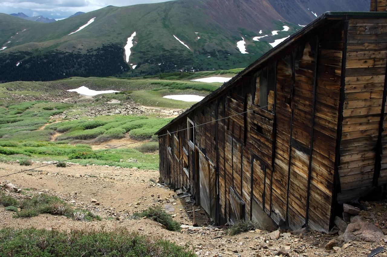Mountain Outdoors Nature Colorado Photography Colorado Landscape Mining History Of America Mining Heritage Santiago Mine Argentine Pass