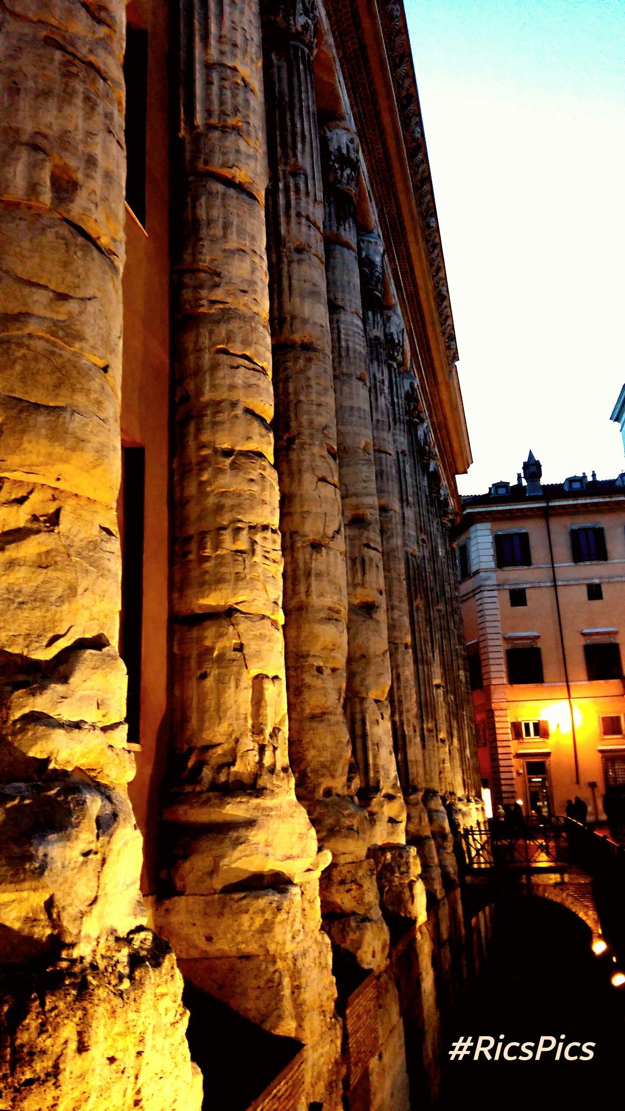 Rome Piazza Di Pietra History RicsPics