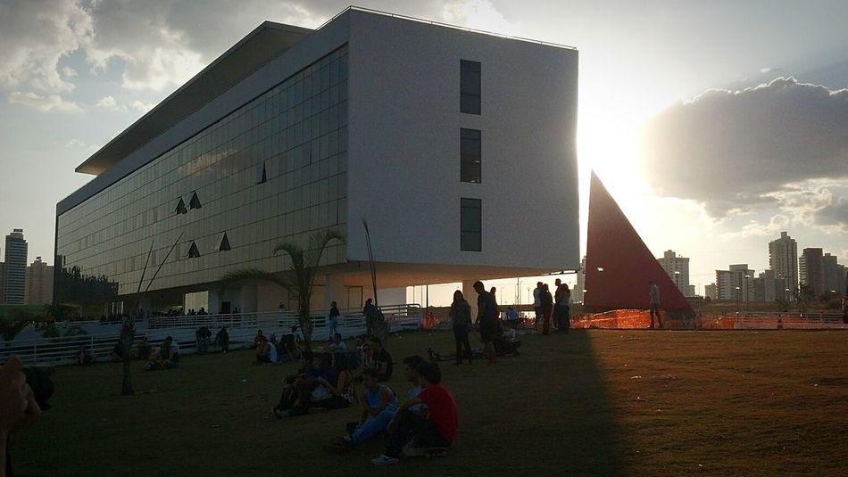 Sunset Sun Architecture Art Peoples Geometric Shapes Armazing
