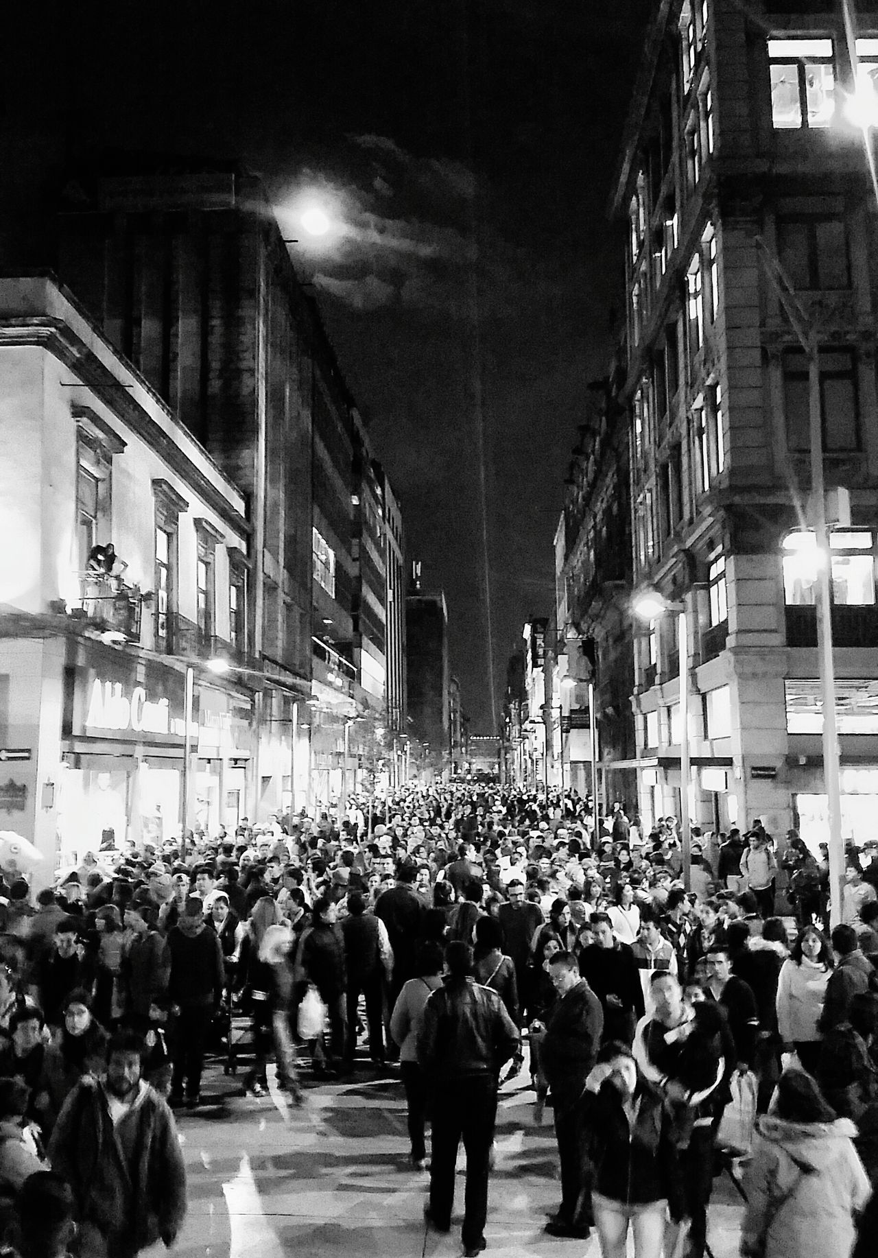 """This past weekend I went to the city center, to the festival of lights filux CDMX, to enter the zócalo of the city can be done by Madero Street, a street where thousands of people pass the day for being so popular, this Photo I take Saturday night, what do you think? I post it on my social networks with the following sentence: """"Photography can only represent the present. Once photographed, photography becomes the past."""" Berenice Abbott. Night People Girls City Portrait Girl Silhouette Illuminated Color Portrait That's Me First Eyeem Photo Today's Hot Look EyeEm Best Shots Mexico City Cdmx2016 Faces Of EyeEm Tourism Eyeemphoto Streetphotography Festival Of Lights Mexico Selfie"""