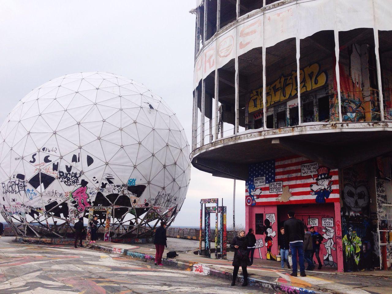 Teufelsberg Teufelsbergberlin Berlin Berliner Ansichten Grunewald Streetart Coldwar Spion Spy Abhörstation Teufelsberg