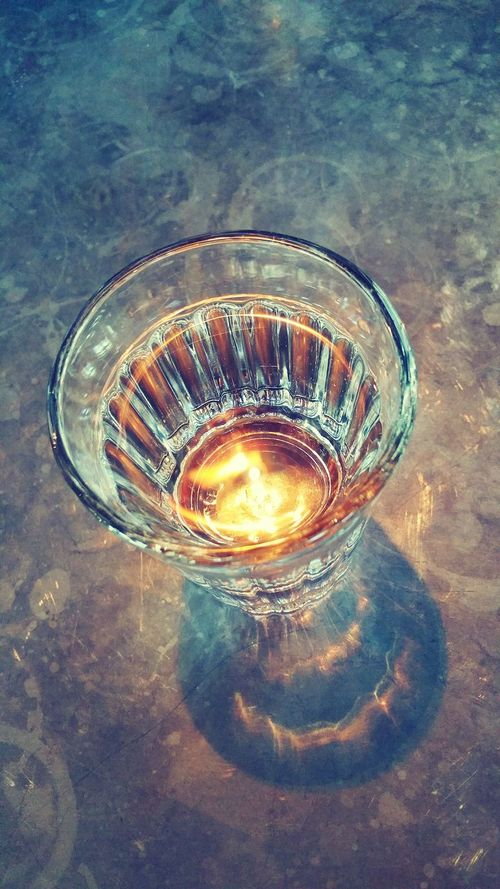 Glass Of Water On The Table Light Reflection Water Glass Shadow Glass Of Water On Table Restaurant Table Jamie's Italian