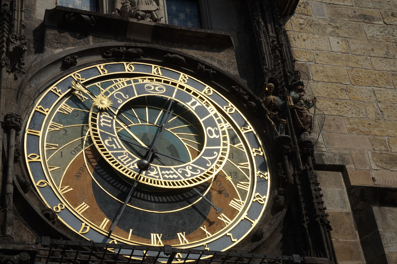 Architecture Astrology Sign Astronomical Clock Astronomy Building Exterior City Clock Clock Face Day Death Instrument Of Time Life Medieval Minute Hand No People Outdoors Prague Space And Astronomy Time Travel Destinations Death And Life Shadows & Lights Travel Tourism Light