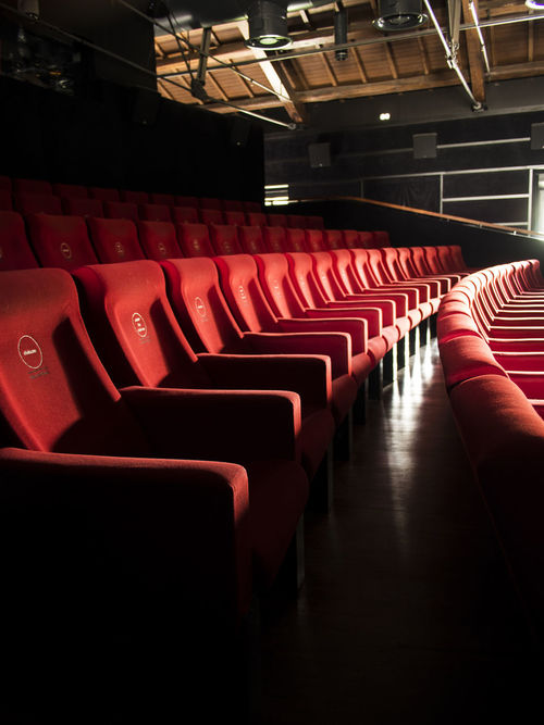 Absence Cinema Chairs In A Row MOVIE Movie Theater Red Theater