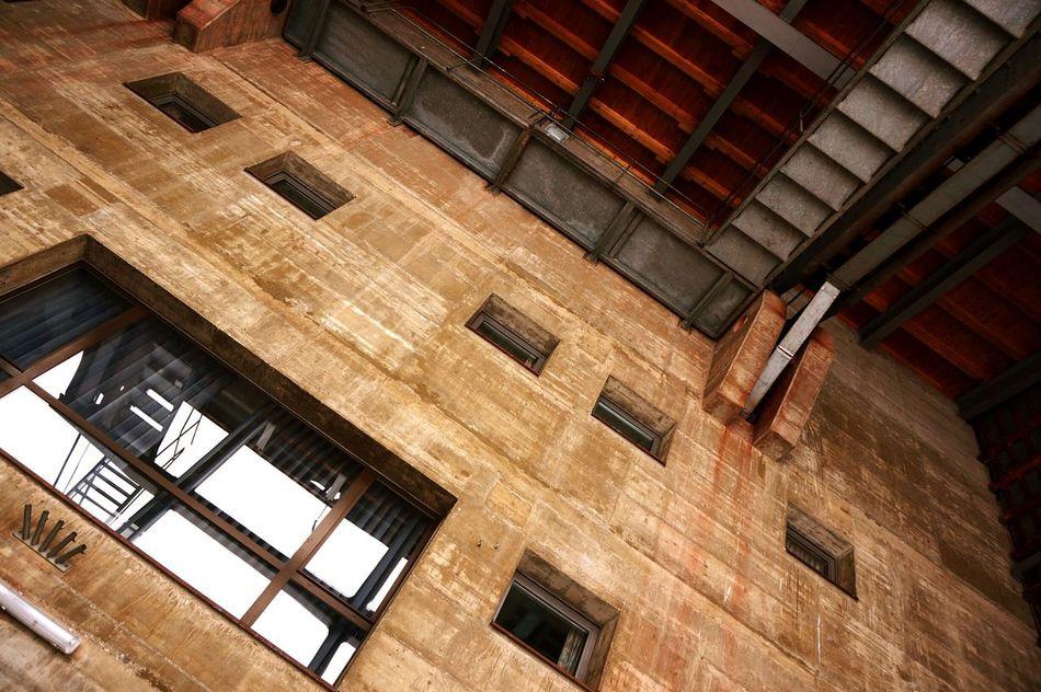 Fiesch Fiescheralp Eggishorn Cable Car Station Switzerland Industrial Concrete
