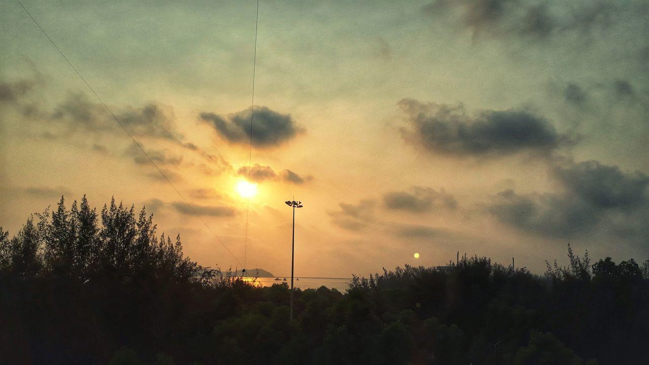 Sunset Watching The Sunset Bayview Vivid Colours  Karwar Kashmir Of The South Anjadip Island