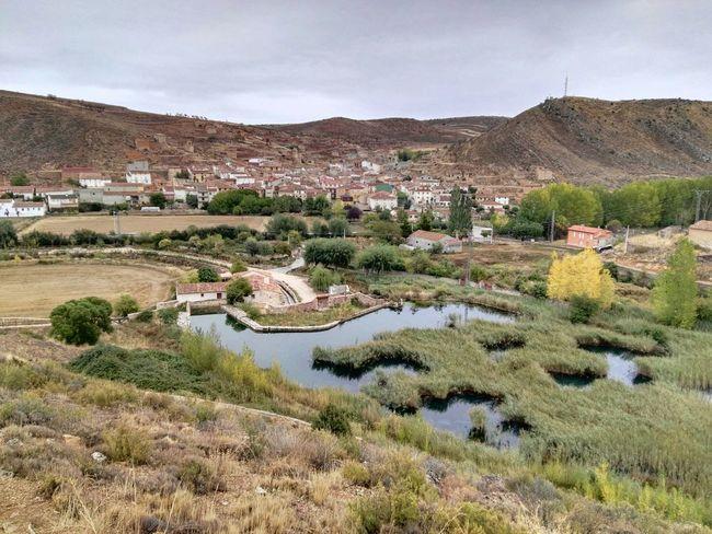 Rio Piedra Cimballa Paisaje River Pueblo