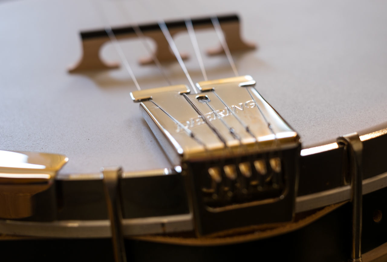 5 Arts Culture And Entertainment Banjo Bridge Close-up Deering Deeringbanjos Five String Fretboard Instruments Music Music Music Brings Us Together Music Is My Life Music Photography  Musica Musical Musical Equipment Musical Instrument Musical Instrument String Musical Instruments String Instrument