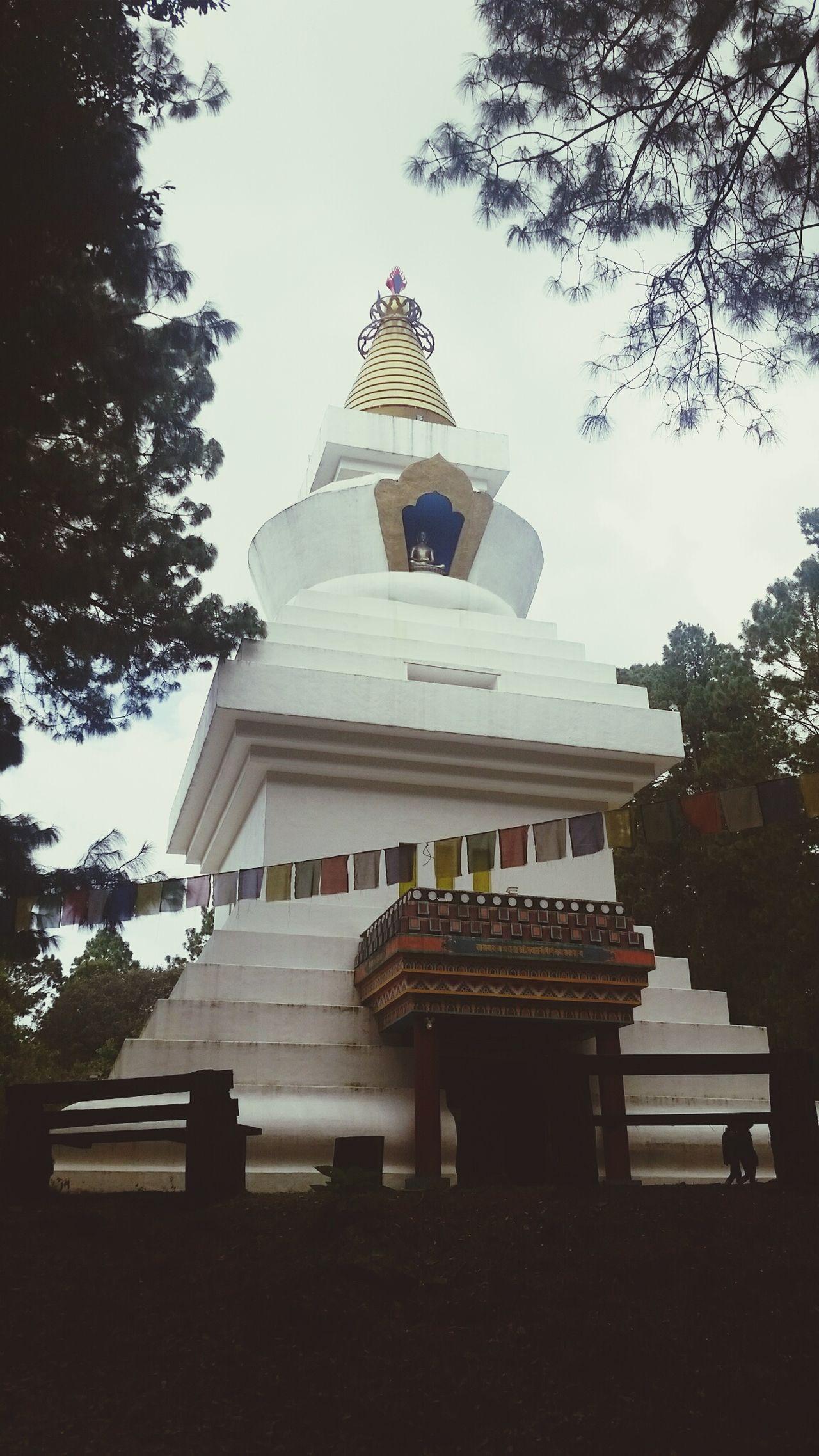 Stupa De La Paz Templo Temple Budismo Meditación Paz Relajación