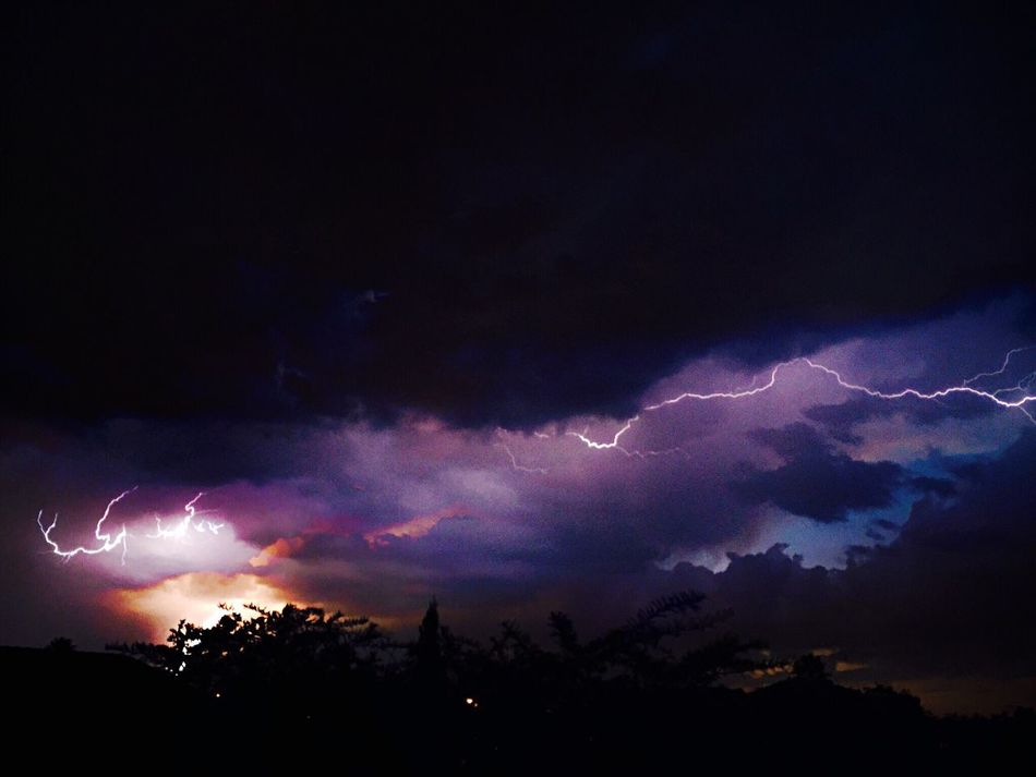 Lightning Storm Nature Electric Storm Sunset And Clouds  Wild Weather Extreme Weather Strike! Electric Weather Bolt Thunderstorm JoziStorm Johannesburg South Africa