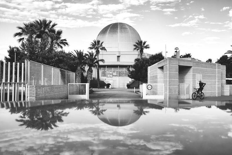 Fine Art Photography Eyem Gallery EyeEm Best Shots - Black + White Street Photography Black And White Collection  Planetarium Reflection_collection