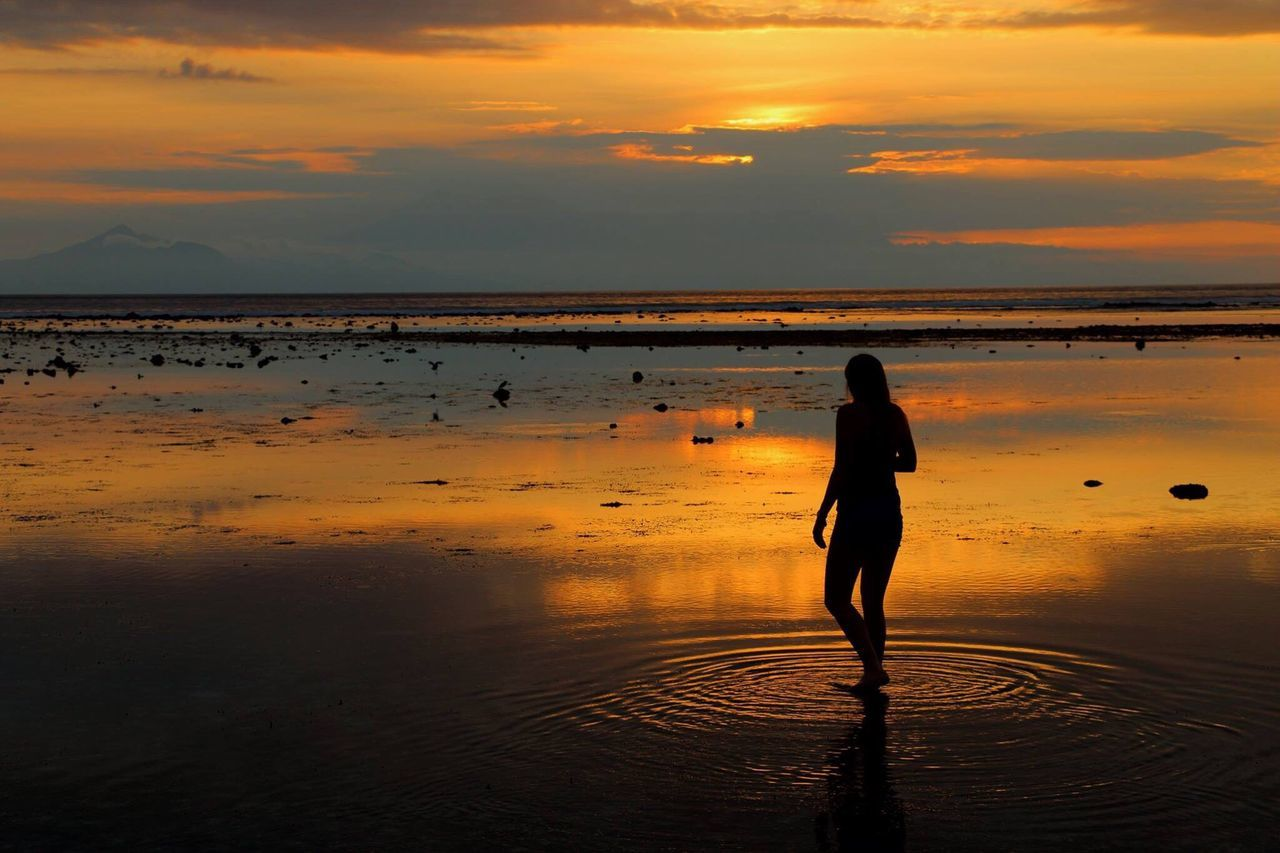 Testing the waters Travel INDONESIA ASIA Beach Shadow Photography Canon70d