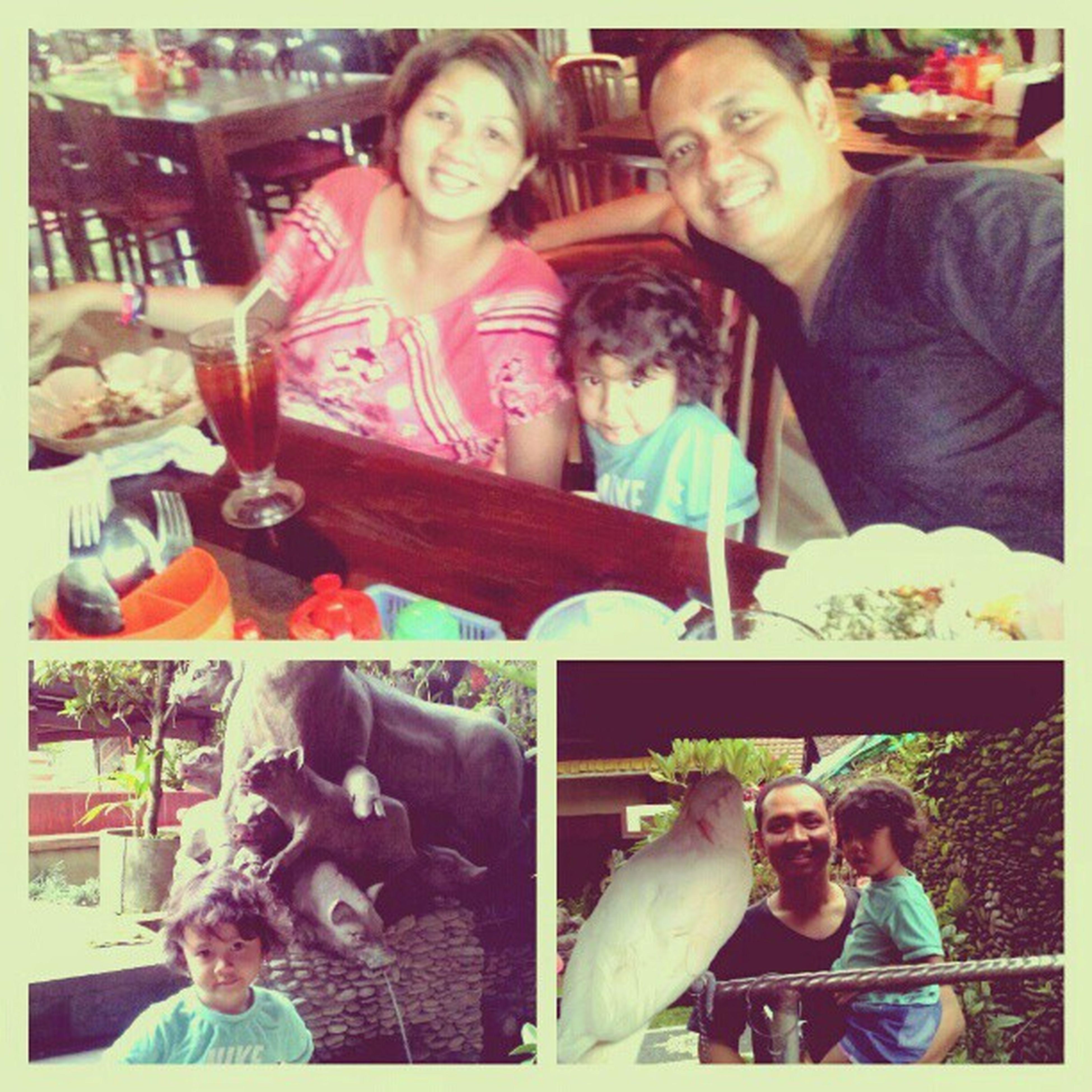 Christmas holiday! Family Kolesterolisasi Ubud Buoka