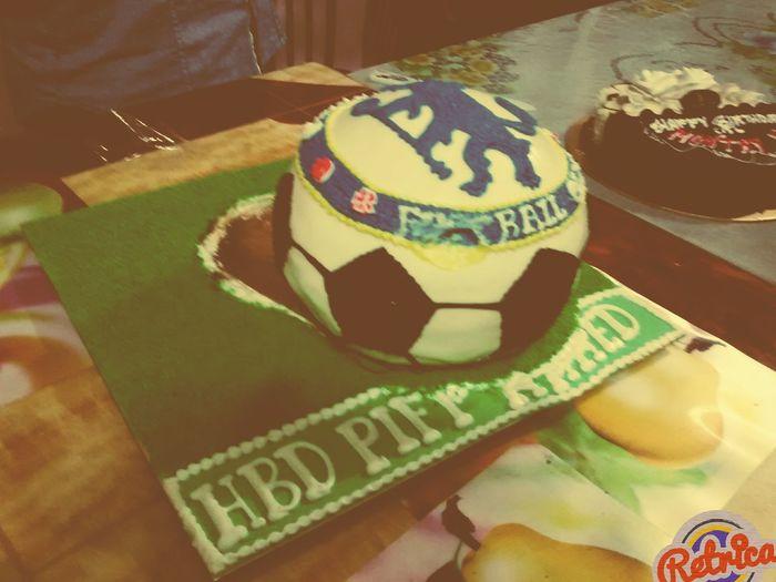 HBD Chelsea Chelsea Fc Birthday Cake