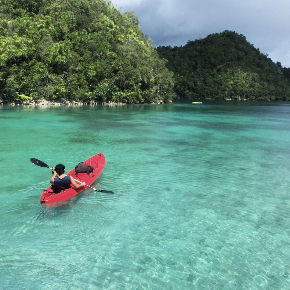 Serenity, tranquility, peace at Sugba Lagoon , Siargao.... LLLimages Iphone6 TraveldiaryLLL Original Experiences Feel The Journey Tranquility Iphoneonly Serenity Serenity... Tranquil Relaxation Time Chill Mode Tranquil Scene Kayaking Kayaking Is Fun Kayak Kayaking In Nature