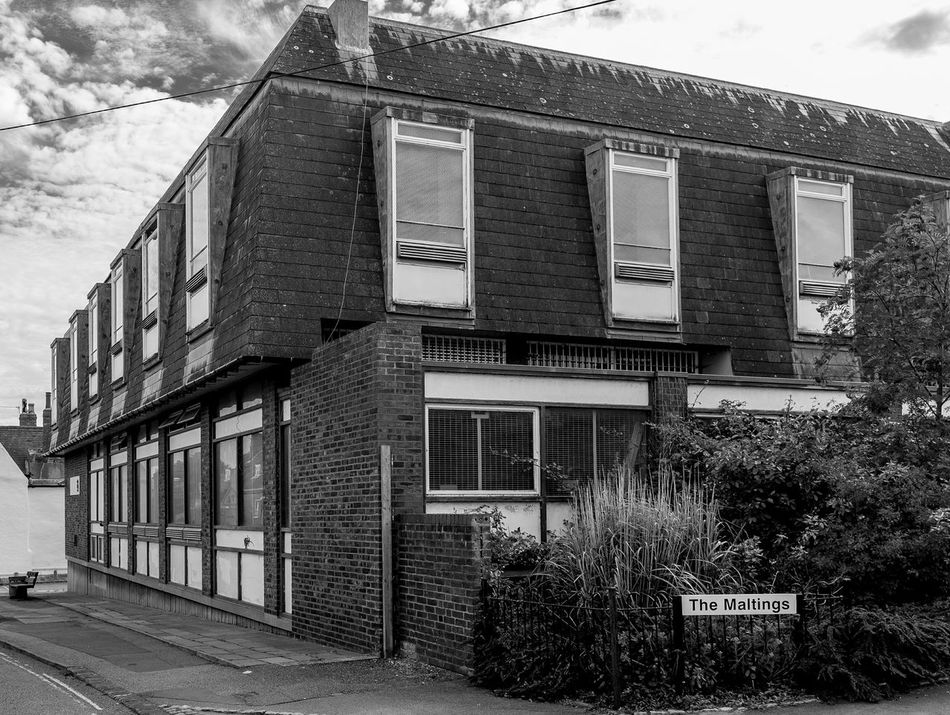 Telephone Exchange, Silver Street, Newport Pagnell, Buckinghamshire Architecture Newport Pagnell Buckinghamshire Monochrome Black And White Telephone