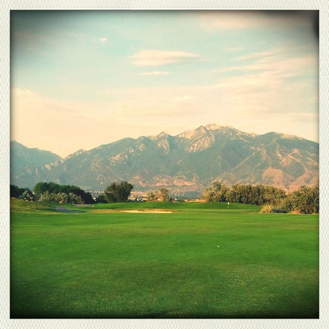 Golfing Golf Course