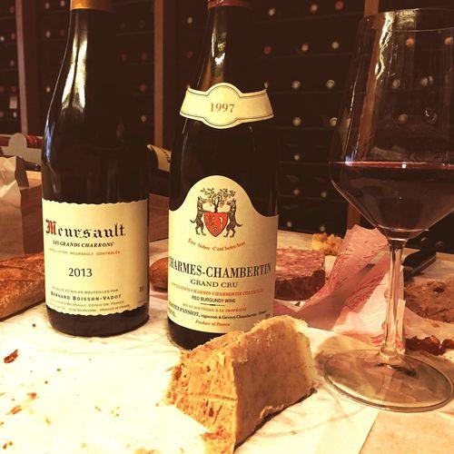 Tough life ! Wine Meursault Charmes-chambertin Bourgogne