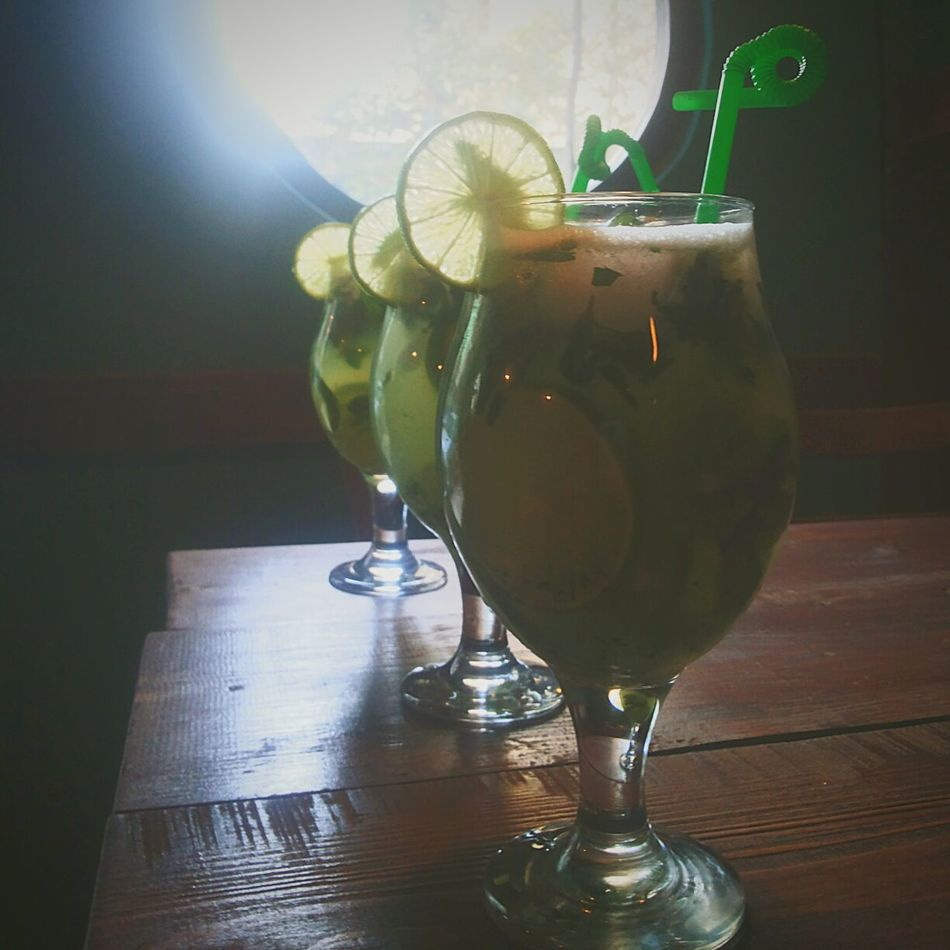 Cafe Mojito Cold Beverages Summer Organic Delicious Lemon Mint