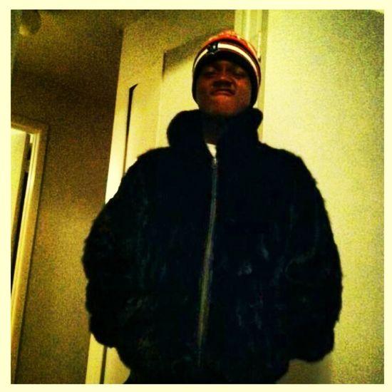 Its cold i got my mink on.