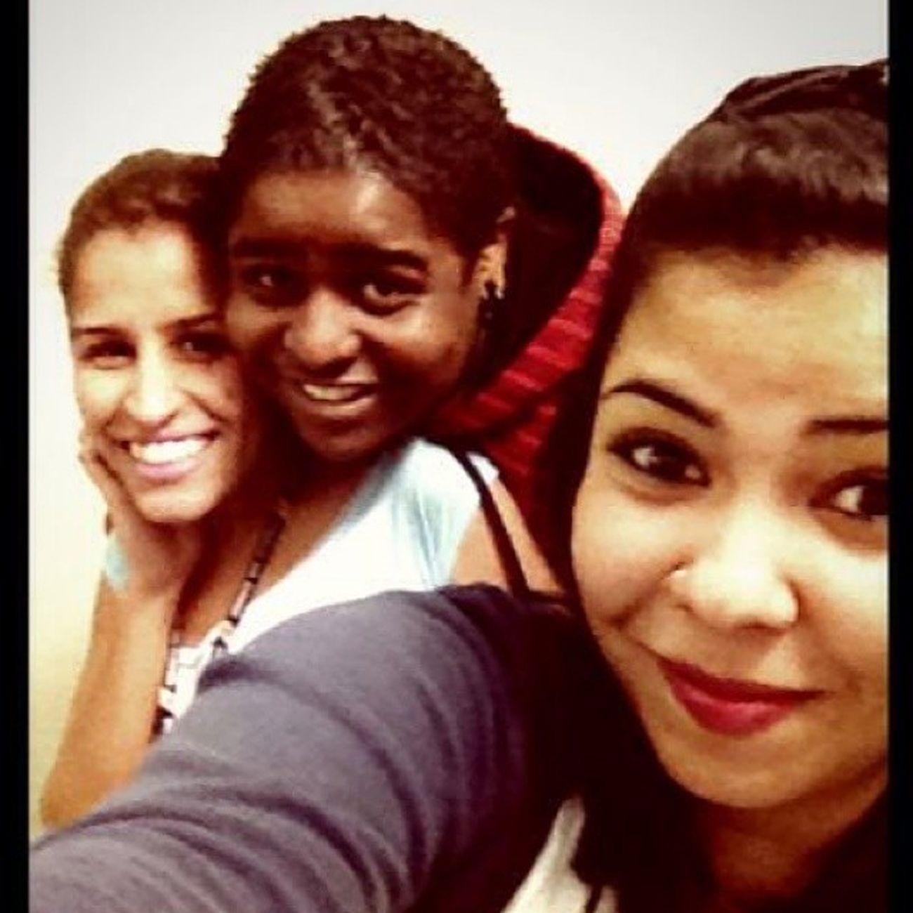 as Maluquetes que Alegram meu dia :) Job Happy smile selfie RioDeJaneiro Brasil
