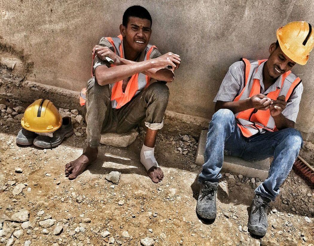 Workers Worksite şantiye  Airport Saudi Arabia