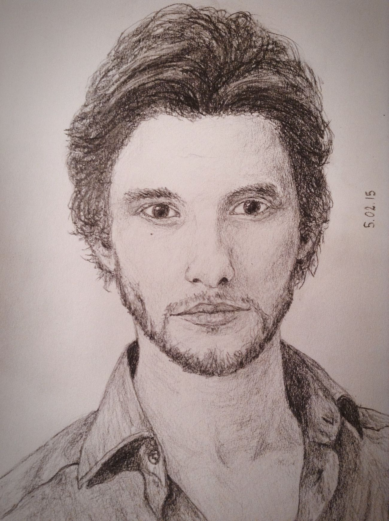 Ben Barnes❤️✏️? Pencil Drawing Fanart Cool Exciting, Drawing Art Cute Portrait Beautiful Love