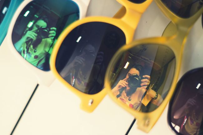 Sunglasses Sun Glasses Sunglass  Gafas Gafas De Sol  Gafasdesol Reflejo Reflection Coleccion Collection Canon Canonphotography Canon 70d Me Yo