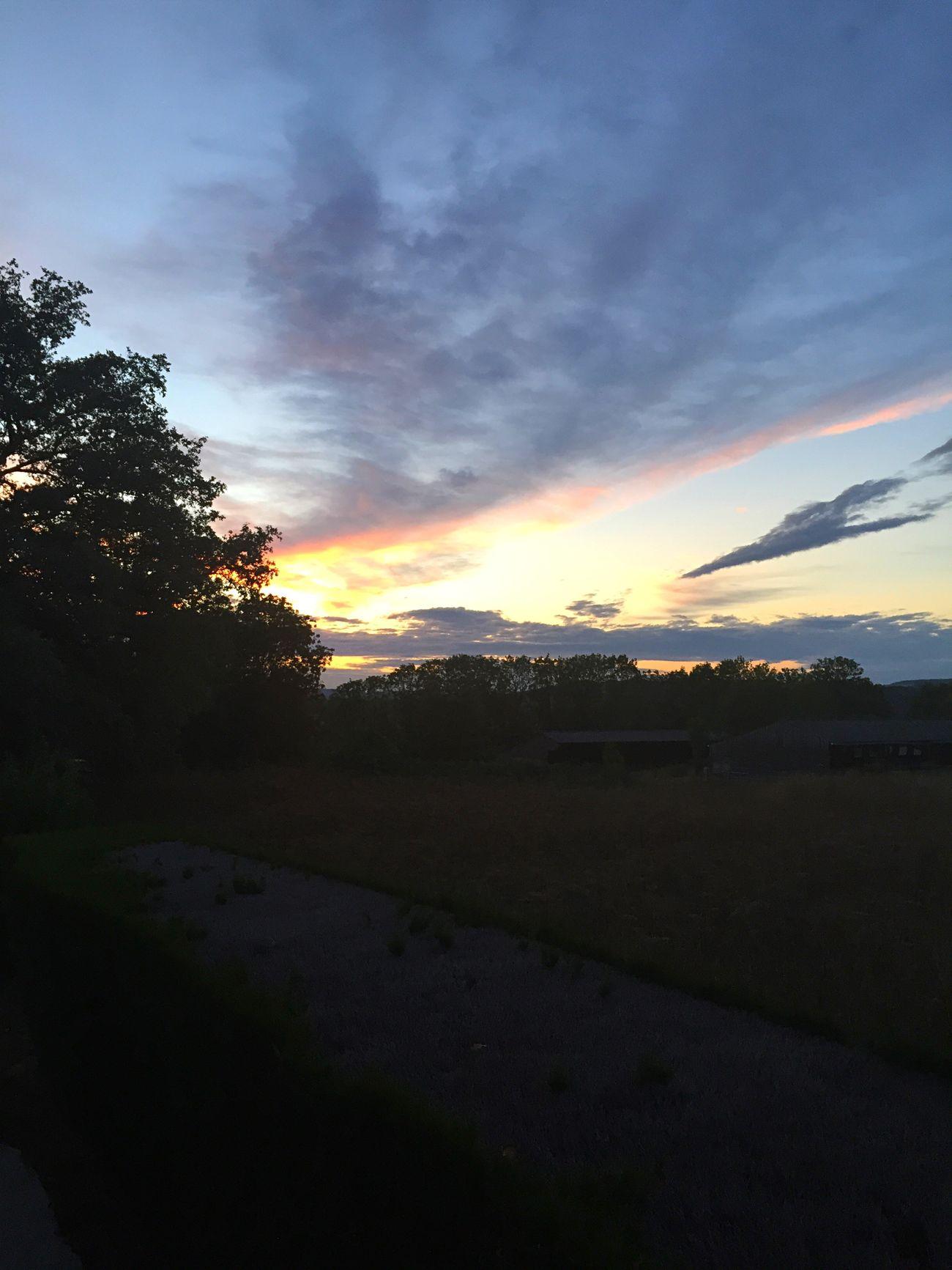 Sundown Coucher De Soleil USY Sunset