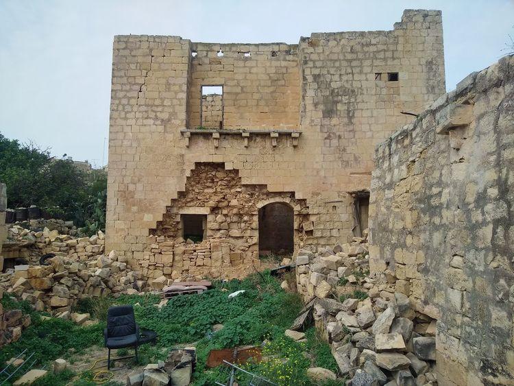 Is-Swatar Malta Mediterranean  Msida Swatar Verlassene Orte Wall Abonded Abonded Buildings Abonded House Abonded Places Architecture Freewall Stonewall Verlassen Wall - Building Feature