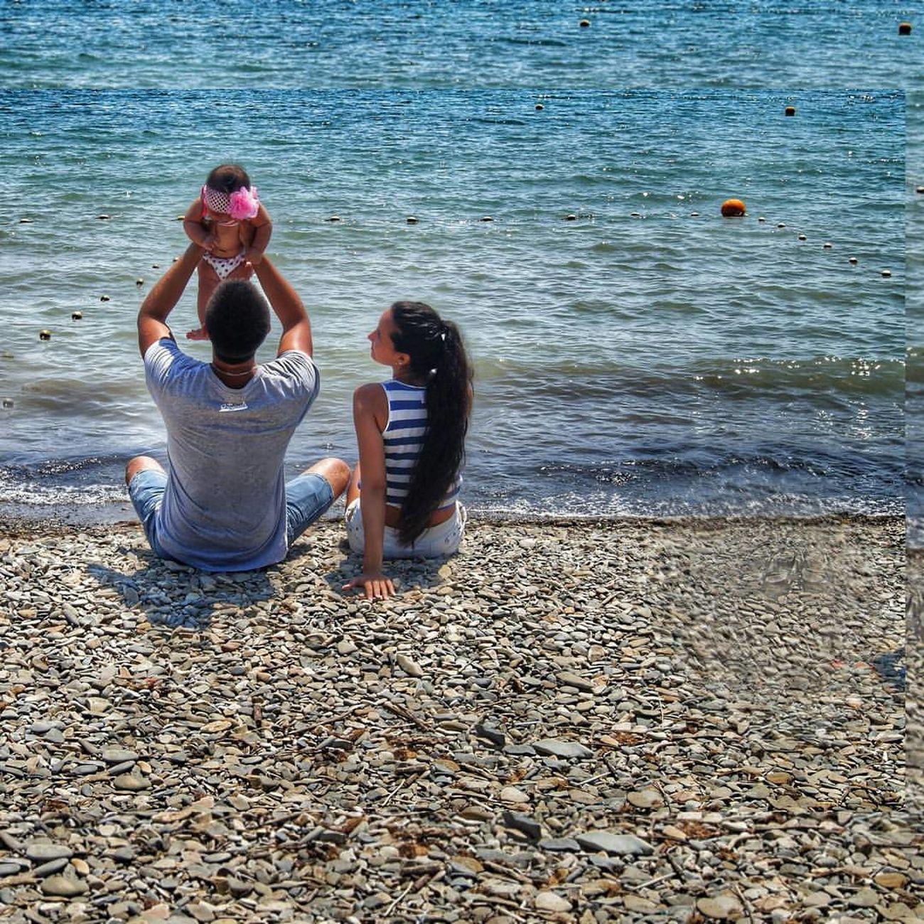 Love ♥ Lova Lova Family Sea Black Sea Любимый❤ семья муж люблю жизнь