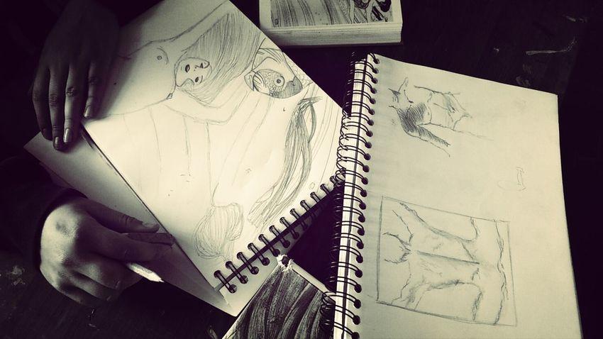 Drawing Taking Photos Bored