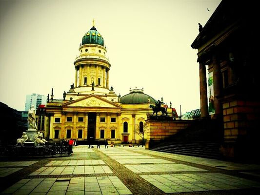 Hanging out at Gendarmenmarkt by Roldano De Persio