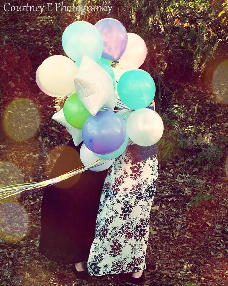 Courtney E Photography 15th Birthday Balloons Happy Birthday!