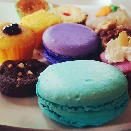 Indulgence Dessert Indulgence Sweet Food Cupcake Food Pastries🍮 Pastries And Goodies Pastries Multi Colored Unhealthy Eating Ready-to-eat Food And Drink Indoors  Temptation
