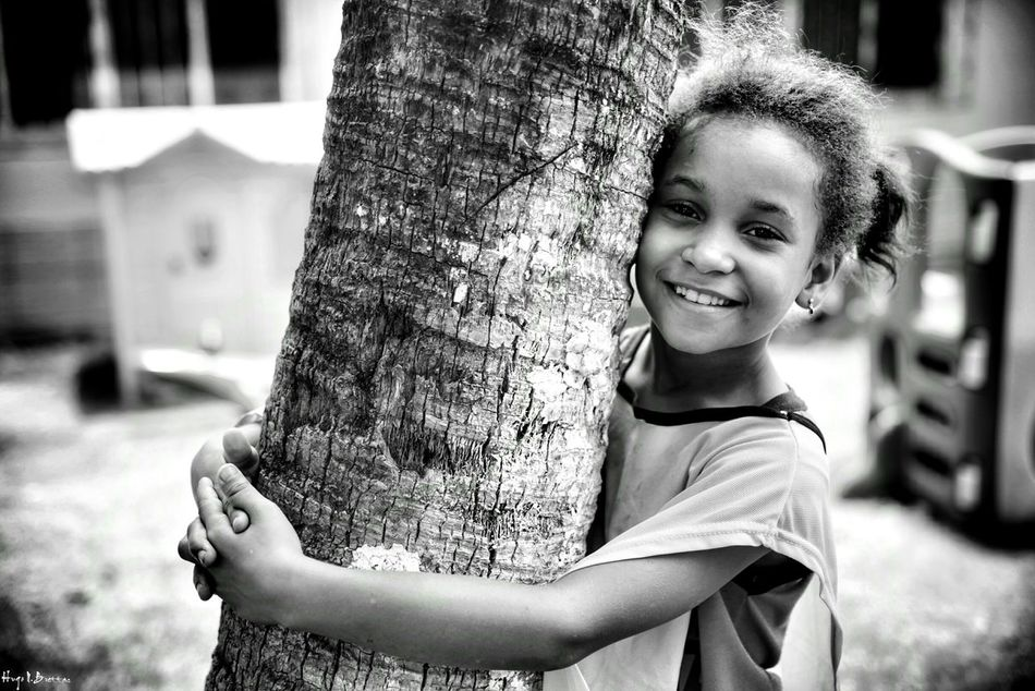 Child Portrait Smiling Girls Looking At Camera Children Only Childhood One Girl Only Happiness One Person Cheerful Fun Outdoors People Real People Happiness Freshness Children Photography Social Documentary School Life  Children Black And White Leisure Activity Social Photography Black & White