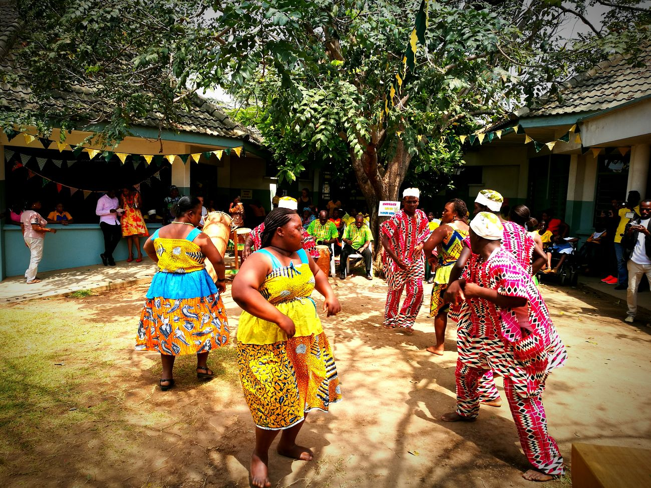 The Dance in Colours Traditional Clothing Large Group Of People Tradition People Celebration Leisure Activity