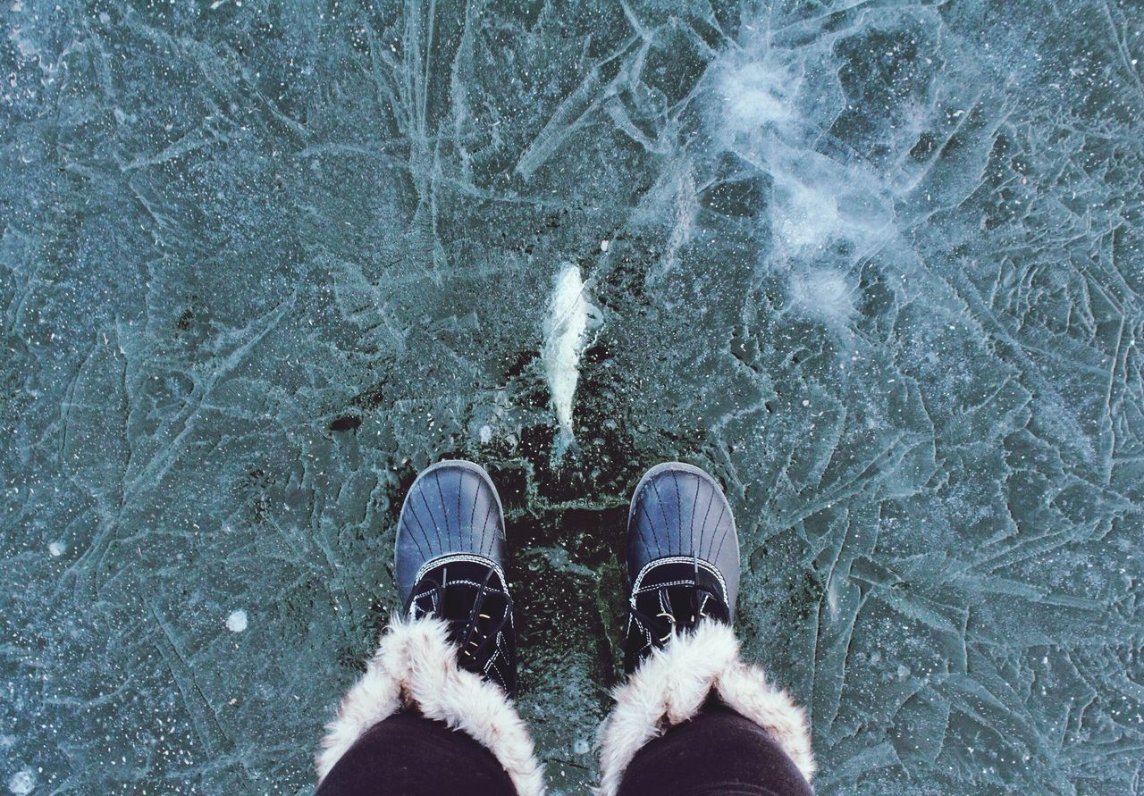 Why hate winter....when else can we walk on water? The Places I've Been Today EyeEm Best Shots EyeEm It's Cold Outside #HolidayMarketing