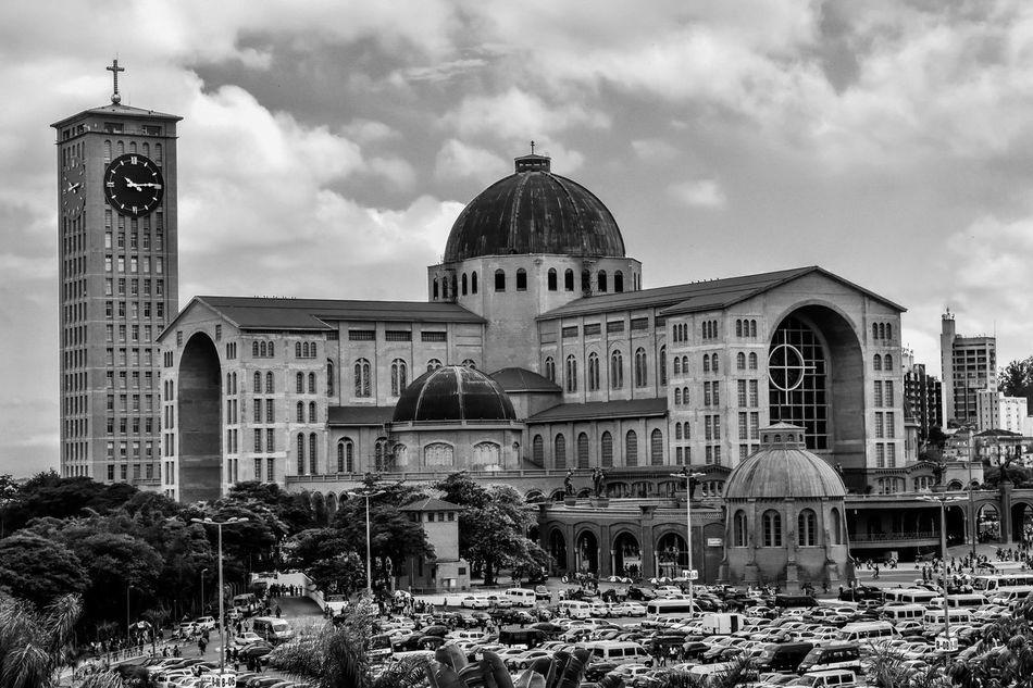 Basílica de Aparecida, São Paulo, Brasil.