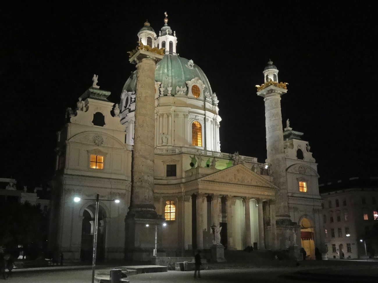 Church by night, Vienna Architecture Architecture Catedral Church Dome Europe Trip History Illuminated Night Religious Architecture Travel Travel Destinations Travel Photography Vacation Destination Vienna Wien