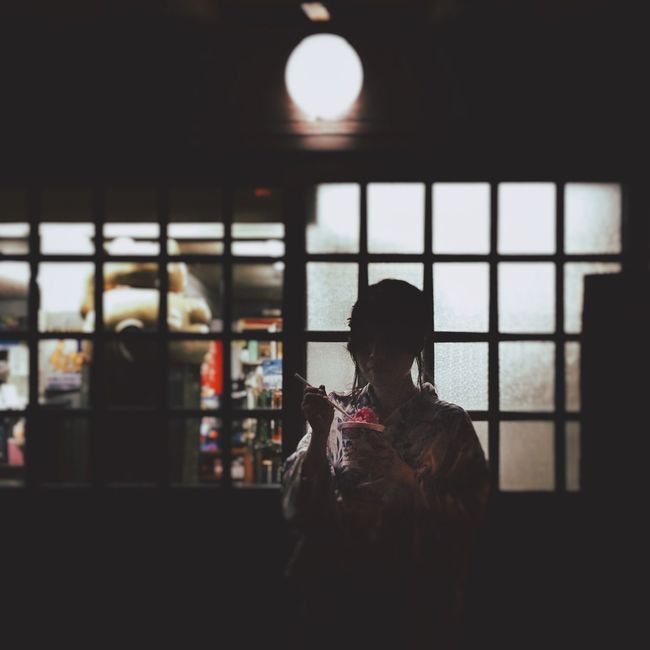 Darkness And Light Festival YUKATA Japan かき氷 Taking Photos Portrait Check This Out Favorite Snapshot Eyem Best Shots Enjoying Life Nightphotography Summer 浴衣 IPhoneography Mobilephotography