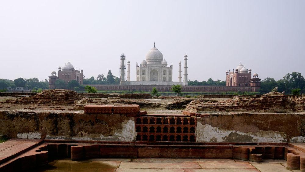 Agra Architecture Building Exterior Built Structure Dome India No People Taj Mahal Tourism Tourist Attraction  Travel Destinations