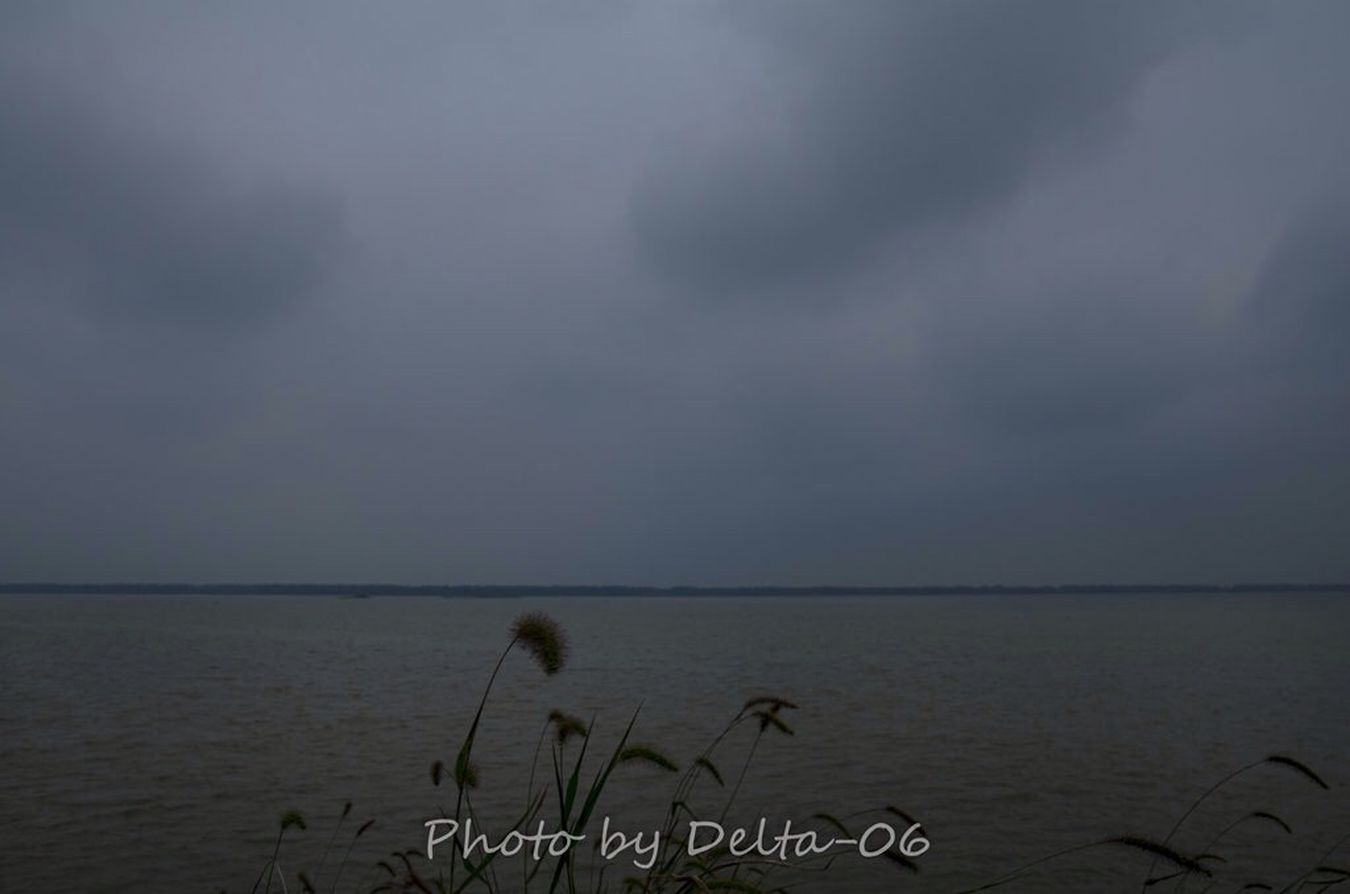 Lake Landscape Travelling Sky And Clouds the Dongting Lake,China